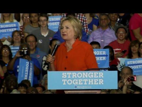 Clinton: Trump only wants to help the wealthy