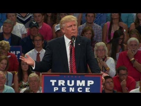 Trump: '2nd Amendment people' could thwart Clinton