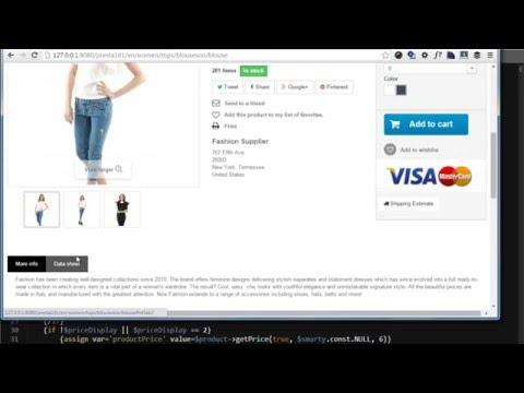 Displaying all categories for a Product in PrestaShop