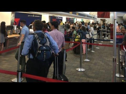 Delta resumes some flights after massive outage