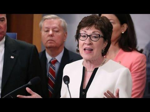 GOP Sen. Susan Collins says she won't vote Donald Trump